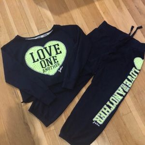 JUSTICE Matching Sweat Suit